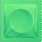 Green condom